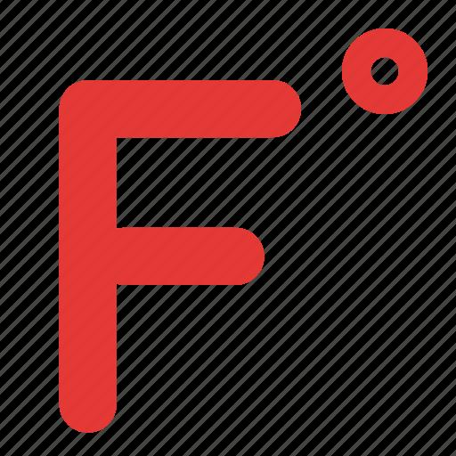 fahreinheit, heat, temperature, weather icon
