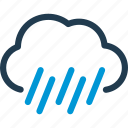 cloud, forecast, rain, weather icon