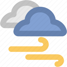 air element, storm, stormy, wind, winds storm, windy icon