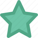 favorite, five pointed, five pointer, like, shape, star icon