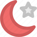 crescent, ecology, moon, moon star, nature, weather