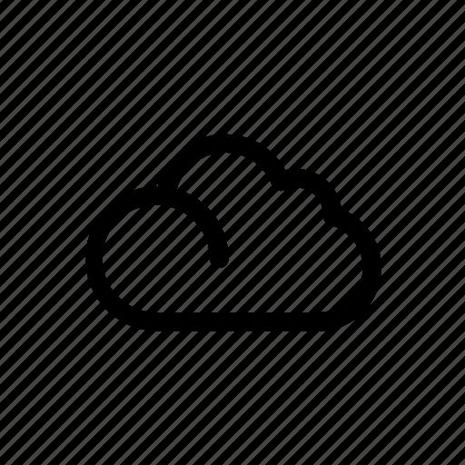climate, cloud, season, sky, weather icon