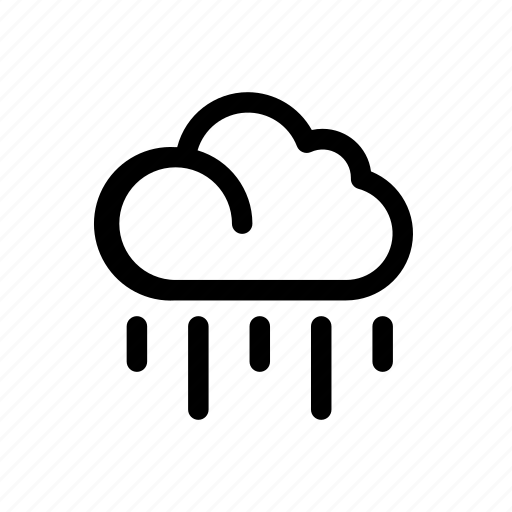 climate, cloud, rain, season, weather icon