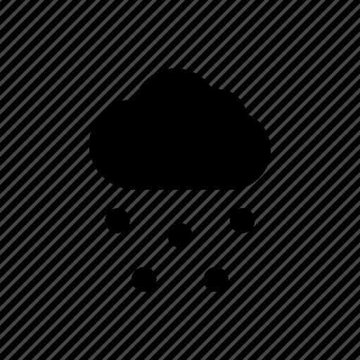 climate, cloud, season, snow, weather, winter icon