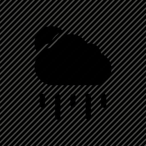 climate, cloud, rain, season, sun, weather icon