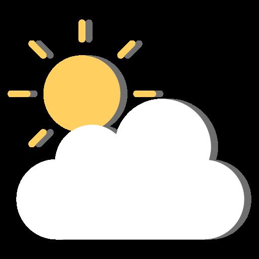 day, forecast, morning, sun, sunny, weather icon