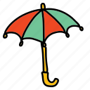parasol, umbrella, weather icon