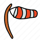 indicator, post, strong, weather, wind icon