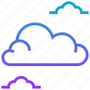 cloud, cloudscape, season, sky, weather, wind icon