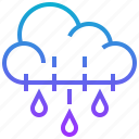 climate, cloud, hailstorm, rain, season, weather icon