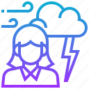 climate, cloud, meteorology, season, storm, weather icon