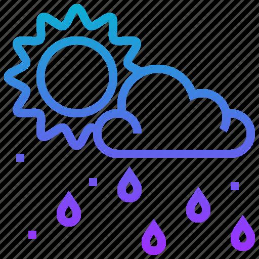 Climate, cloud, rain, season, sun, weather icon - Download on Iconfinder