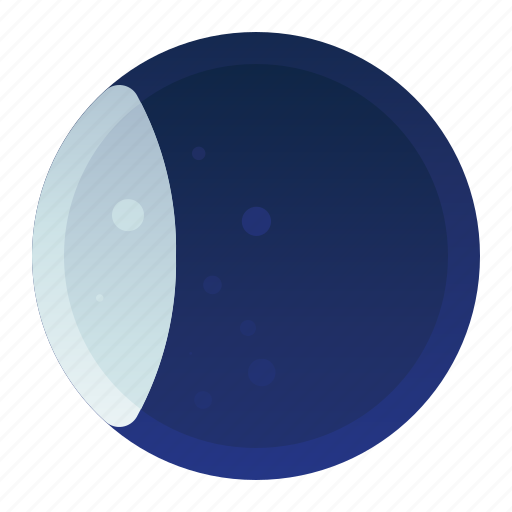 Eclipse, forecast, moon, phase, weather icon - Download on Iconfinder