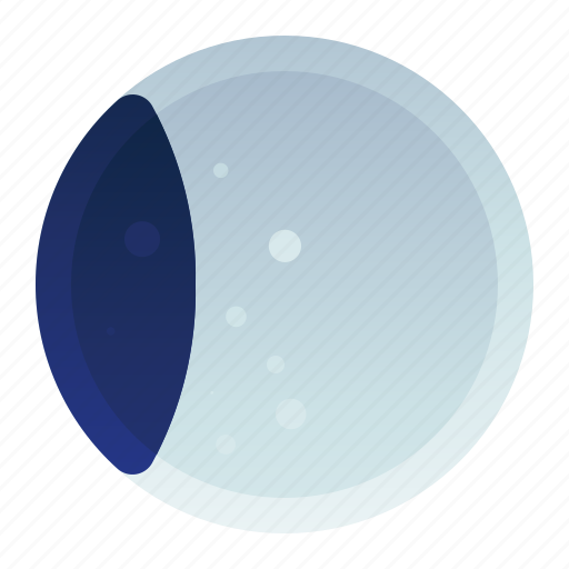 Eclipse, forecast, moon, part, weather icon - Download on Iconfinder
