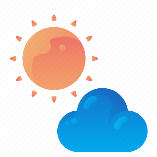 Forecast, partly, sun, sunny, weather icon - Download on Iconfinder