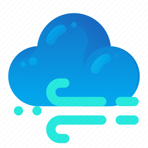 Cloud, forecast, weather, wind, windy icon - Download on Iconfinder