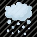 cloud, forecast, nature, precipitation, snow, weather, winter icon