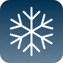 christmas, cold, sky, snow, snowflake, weather, winter icon