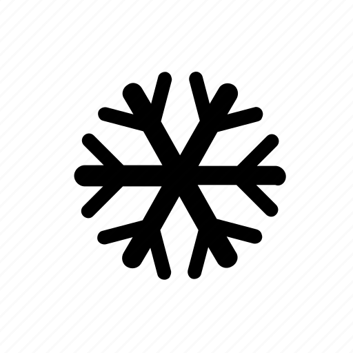 snow, snowflake, snowy day, weather, winter icon