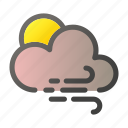 climate, cloud, condition, forecast, weather, wind