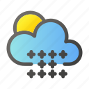 climate, cloud, condition, forecast, snow, weather