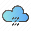 clouds, forecast, weather, windy icon