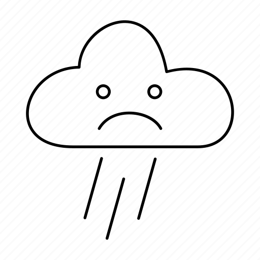 cloud, forecast, heavy, rain, raining, weather icon