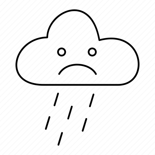 cloud, forecast, rain, raining, shower, weather icon