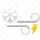 cool, winter, snowflake, cold