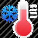 temperature, cool, winter, snowflake