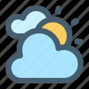 weather, cloud, cloudy, sun, sunny