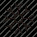 snowflake, winter, snow, weather, forecast, christmas