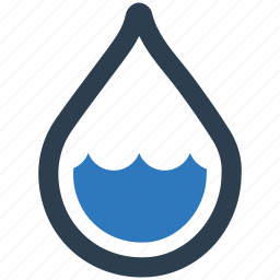 humidity, low, rain icon