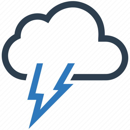 cloud, storm, thunderstorm, weather icon