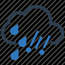 cloud, drop, hail, rain icon