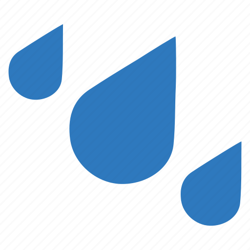 drops, heavy, rain, rainy icon