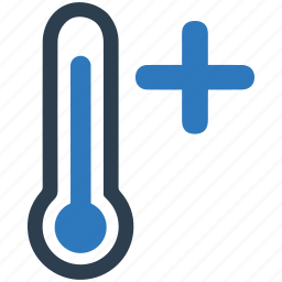 heat, high, hot, temperature icon