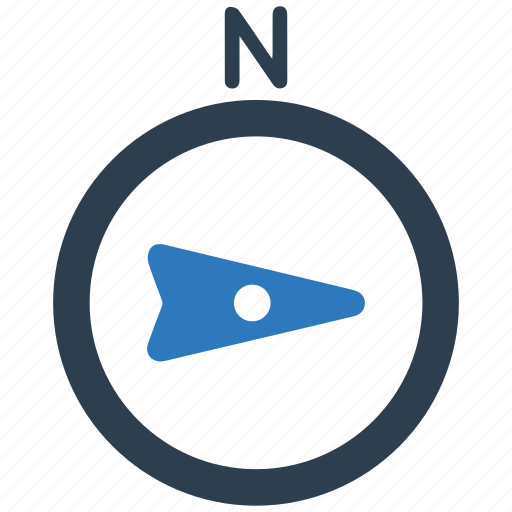 compass, east icon