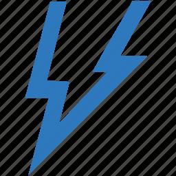 bolt, flash, lightning, lights, storm, thunder icon