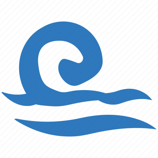 Ocean, sea, sea waves, water waves, waves icon - Download on Iconfinder