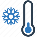 cold, cool, snowflake, temperature, winter icon