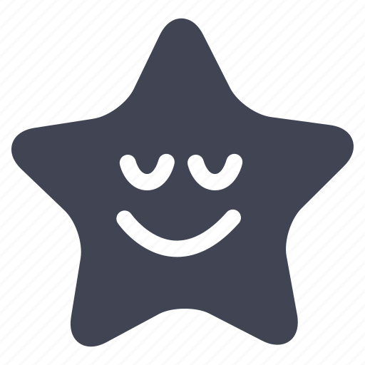 forecast, night, smiling, star, weather icon