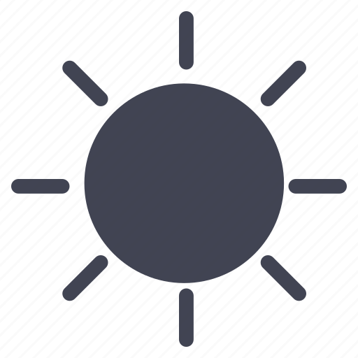 forecast, heat, summer, sun, sunny, weather icon