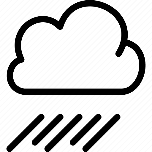 atmosphere, climate, cloud, forecast, meteorology, rain, weather icon
