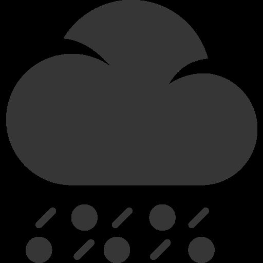cloud, grey, rain, snow, weather, winter icon