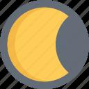 moon, moonlight, moonshine, night icon