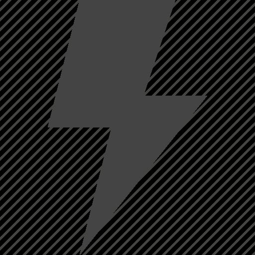 bolt, energy, flash, storm icon
