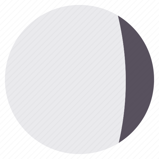 full, moon, night, position icon