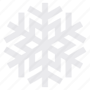 christmas, season, snow, snowflake, weather icon