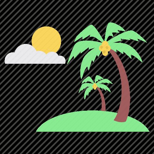cloud, ecology, evening, nature, park, sun, weather icon